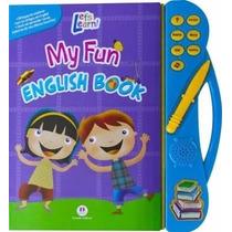 My Fun English Book Livro Infantil Ensina Inglês