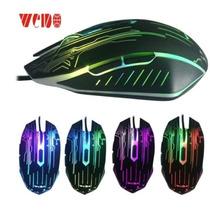 Mouse Gamer Rgb 3200 Dpi Alta Velocidade Usb 3.0 1,5m Weibo