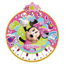 Tapete Musical Da Minnie Bowtique Infantil Zippy Toys