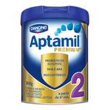 Fórmula Infantil Em Pó Danone Aptamil Premium 2 Em Lata De 800g