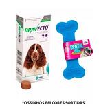 Bravecto Antipulgas E Carrapatos Cães De 10 A 20kg + Brinde