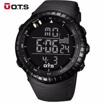 Relógio Digital Militar Ots 50mm Esportivo Corrida G Shock