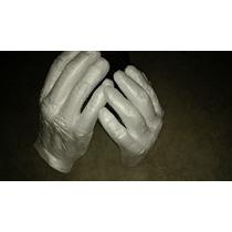 2 Mãos Isopor Branca Personagens Fantasia Festa Brincadeira