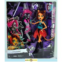 Monster High Catty Noir E Toralei Fierce Rockers Mattel
