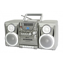 Micro Mini System Lenoxx Mc260 C/ Am/fm/deck/cd/mp3.