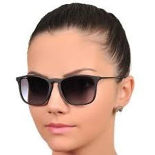 Oculos Quadrado Masculino Feminino Degradê Chris S  Veludo 6cbc1293c4