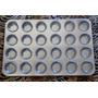 Forma Para Mini Cupcake 24 Cavidades Em Alumínio