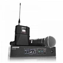 Microfone Shure Sem Fio Qlx-d - Beta 58a