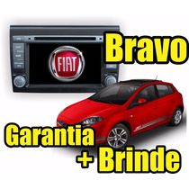 Central Multimidia Fiat Bravo 12x S/ Juros Gps Dvd Cam Ré Tv