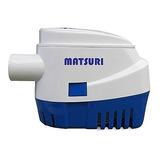 Bomba De Porão Com Automático Matsuri 1100 Gph 12v+