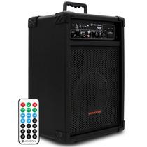 Caixa Som Amplificada Microfone Instrumento Hayonik 60w Rms