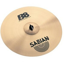 Prato Sabian B8 18 Medium Crash 41808 Na Studio Som João !!