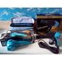 Kit Secador 4000w+chapinha+modelador De Cachos Bak 127v Azul