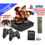 Video Game Retro C  2 Controles S  Fio E Mini Teclado