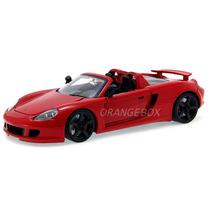 Porsche Carrera Gt 2005 Jada Toys 1:24 96955-vermelho