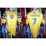 Suécia 1996 Camisa Titular Tamanho Gg Número 7 Larsson.