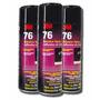 Adesivo Cola Spray 76 Tecido - Espuma - Couro - Tapeçaria 3m