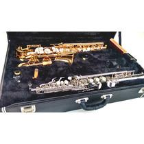 Estojo Case Duplo Para Sax Tenor E Soprano - Kromus