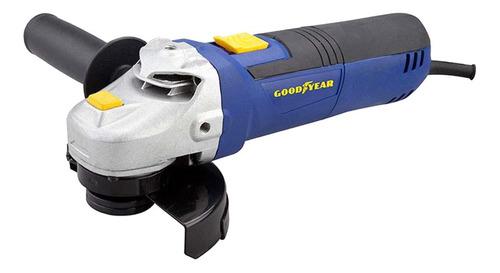 Esmerilhadeira Angular Goodyear Gy-ag-50060 De 60hz Azul 127v