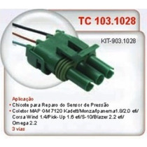 Conector Chicote Sensor Map Monza Kadett Corsa Omega Blazer