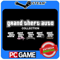 Grand Theft Auto Complete Pack Basic Pc Steam Cd-key