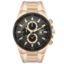 Relógio Orient Masculino Dourado Chronograph Mgssc004 G1kx