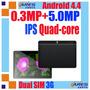 Tablet 10 Polegada Com 3g Integrada Android 4.4 Quadcore Gps