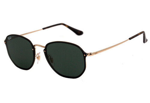 e4ef01ee9722a Óculos De Sol Ray Ban Rb3579 001 71 Blaze Hexagonal Original