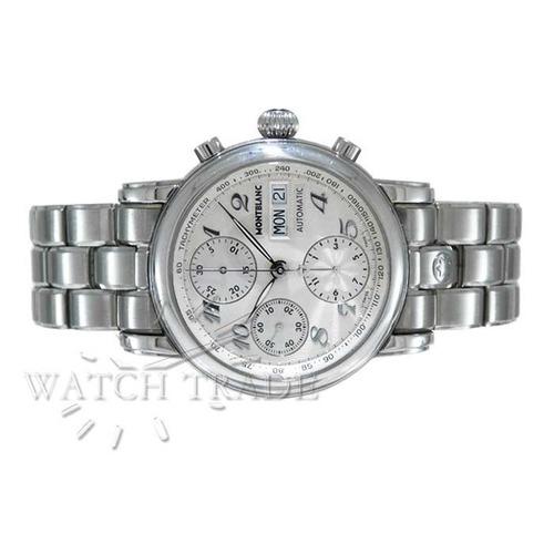 5bebef06aa5 Relógio Montblanc Star Steel Cronógrafo Ref.  7016
