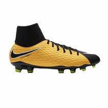 bb540e420a02b Chuteira Nike Hypervenom Phelon Iii Campo Botinha Original