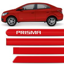 Friso Lateral Novo Prisma 2013 2014 2015 Vermelho Pepper Gm