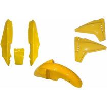 Rabeta Paralama Lateral Kit Completo Dafra Speed 150 Amarelo