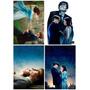 Kit Com 6 Placas Decorativas A4 Filmes Cinema Vários Modelos
