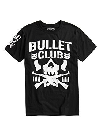 01ad073ee Camiseta Wwe Bullet Club Blusa Masculina Wrestling Com Manga