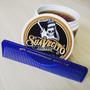 Kit Suavecito Pomade Strong Hold + Pente Original 12cms