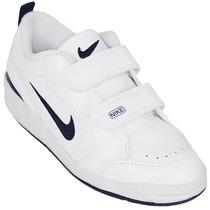 Tênis Nike Infantil Branco 503496-101 Pico 3 Pv Original+nf