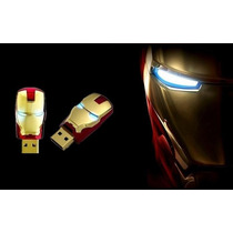Pen Drive 8 Gb Homem De Ferro Usb Flash Drive Iron Man Novo