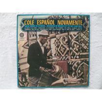 Lp Nat King Cole Espanol Novamente Disco De Vinil