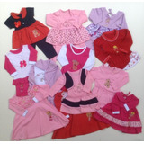Roupa Bebê Menina Infantil Kit 5 Conjuntos Inverno 2-6 Meses