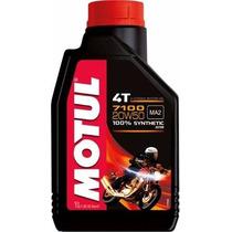 Kit C/3 Óleo Motul 7100 Moto Moto 4t 20w50 Sintético 1lt