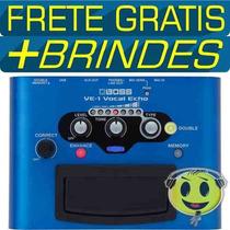Pedaleira Boss Roland Ve1 Processador Vocal Efeitos De Voz