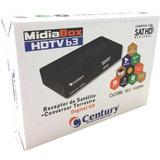 Receptor Midia B3 Century Digital Hd P/parabólica
