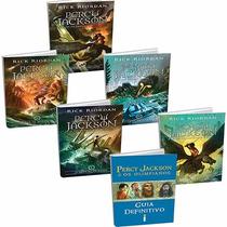 Coleção Percy Jackson + Guia Definitivo (6 Livros) - Lacrado
