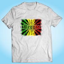Camisa Reggae Bob Marley Jamaica Pop Música Personalizada
