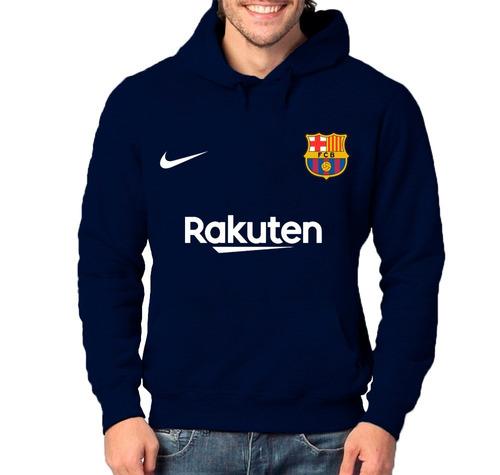 71920d6619be9 Blusa Moletom Barcelona Rakuten 2019 Time Futebol Moleton