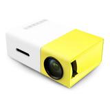Mini Projetor Led 1080p 400 - 600 Lúmens Portátil Yg-300 Lcd