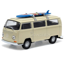 Vw Kombi T2 Bus 1972 Surf 1:36 Welly 42347surf-bege