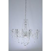 Lustre De Cristal Maria Tereza 8 Lamp.e14 W/k5