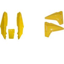 Carenagem Dafra Speed 150 Amarelo Rabeta+tampa Lateral (par)