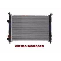 Radiador Fiat Strada 1.0/1.3/1.4/1.8 Fire 2001... Brasado